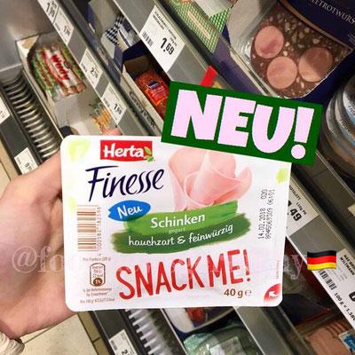 Herta Finesse Snack me!
