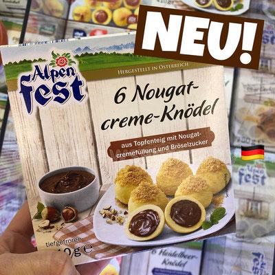 Lidl Alpenfest Nougatcreme-Knödel