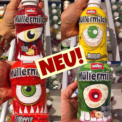 Müller Milch Halloween Edition