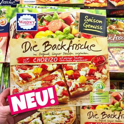 Wagner Pizza Die Backfrische Chorizo