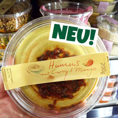 Neni Hummus Curry-Mango