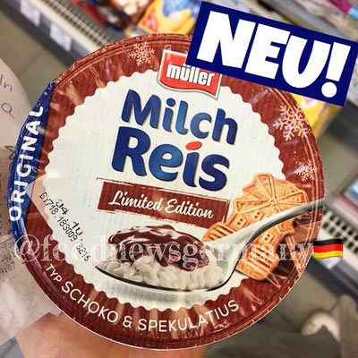 Müller Milchreis Schoko Spekulatius
