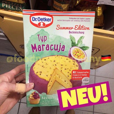 Dr. Oetker Backmischung Sommer Edition Maracuja