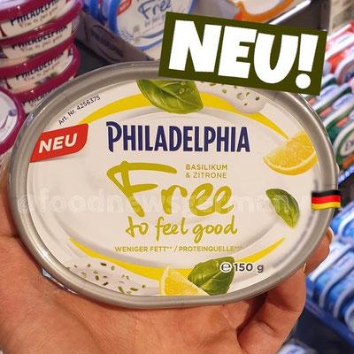 Philadelphia Frischkäse Free to feel good Basilikum & Zitrone