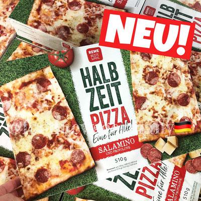Rewe Halbzeit Pizza