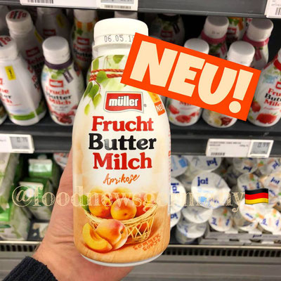 Müller Frucht Buttermilch Aprikose