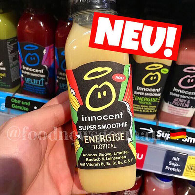 INNOCENT SUPER SMOOTHIE ENERGISE TROPICAL