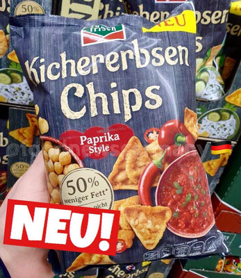 funny frisch Kichererbsen Chips