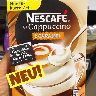 Nescafe Cappuccino Caramel