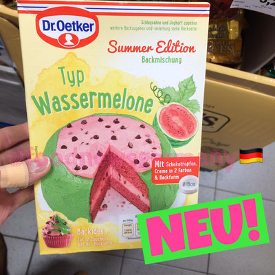 Dr. Oetker Backmischung Sommer Edition Wassermelone
