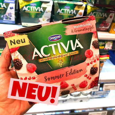 Danone Activia Sommer Edition
