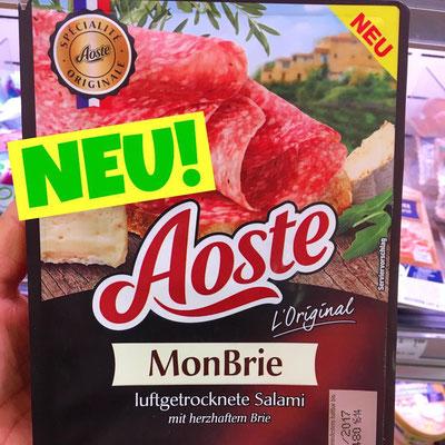 Aoste Salami Mon Brie
