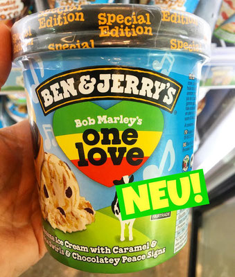 Ben & Jerry's Bob Marley's One Love
