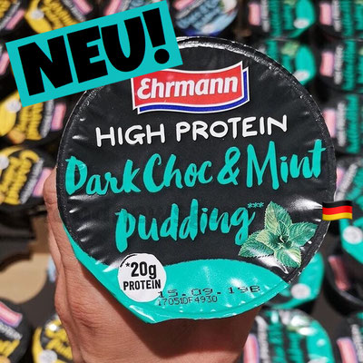Ehrmann High Protein Dark Choc & Mint