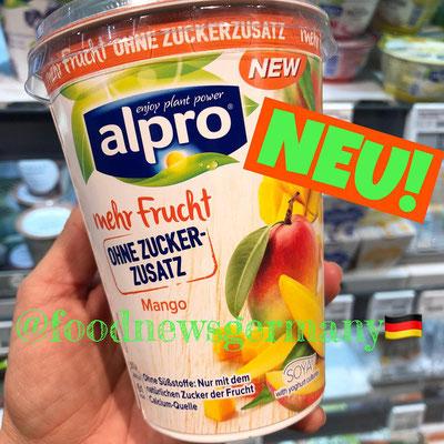 alpro mehr Frucht ohne Zuckerzusatz