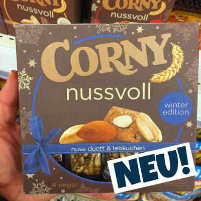 Corny nussvoll Winter Edition Nuss-Duett- Lebkuchen