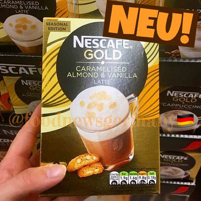 NESCAFE GOLD CARAMELISED ALMOND & VANILLA LATTE