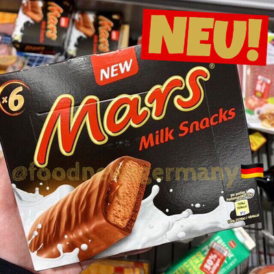 Mars Milk Snacks