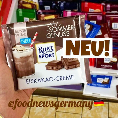 Ritter Sport Sommer Edition Eiskakao-Creme