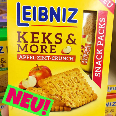 Leibniz Keks & More Apfel-Zimt Crunch