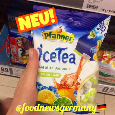 Pfanner ICE TEA Bonbons Lemon Lime