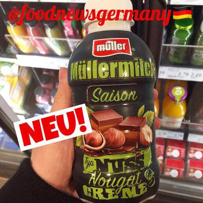 Müllermilch Saison Nuss Nougat Creme