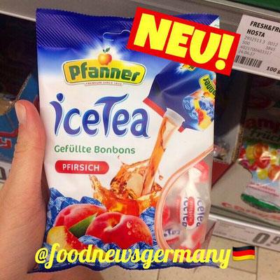 Planner ICE TEA Bonbons Pfirsich