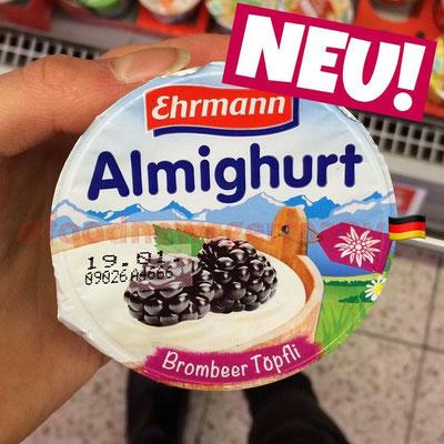 Ehrmann Almighurt Brombeer Töpfli