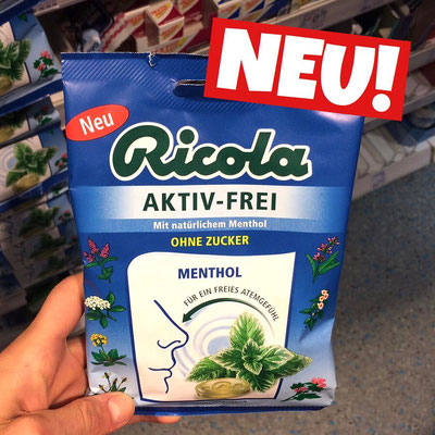 Ricola Aktiv-Frei