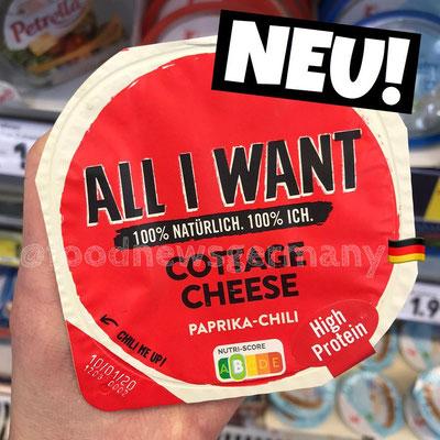 "Danone ""All I want"" Cottage Cheese Paprika-Chili"