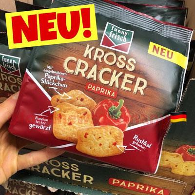 Funny Frisch Kross Cracker Paprika