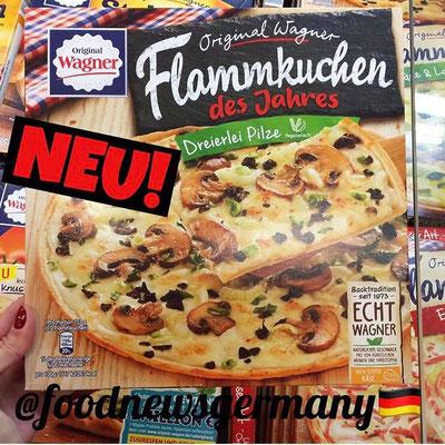 Wagner Flammkuchen Dreierlei Pilze