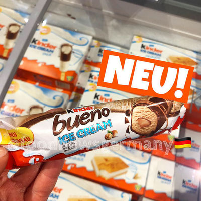 Kinder Bueno Ice Cream