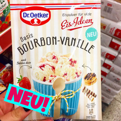 Dr.Oetker Eispulver Eis Ideen Basis Bourbon-Vanille