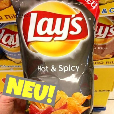 LAY's Chips Hot & Spicy