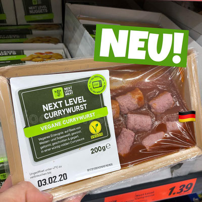 Lidl Next Level Currywurst