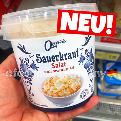 Quarki Sauerkraut Salat russischer Art