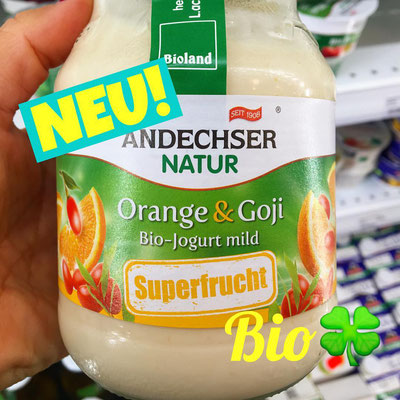 Andechser Natur Joghurt Superfrucht