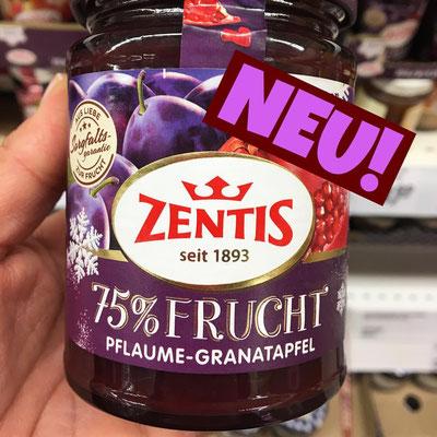 Zentis 75% Frucht Pflaume-Granatapfel
