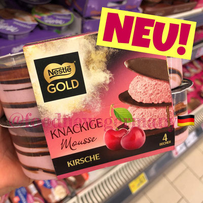 Nestle Gold Knackige Mousse Kirsche