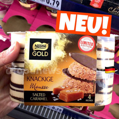 Nestle Gold Knackige Mousse Salted Caramel