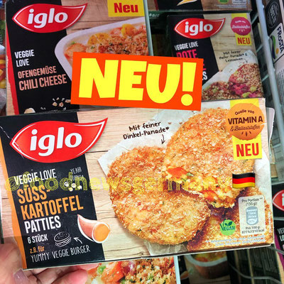 Iglo Veggie Love Süsskartoffel Patties