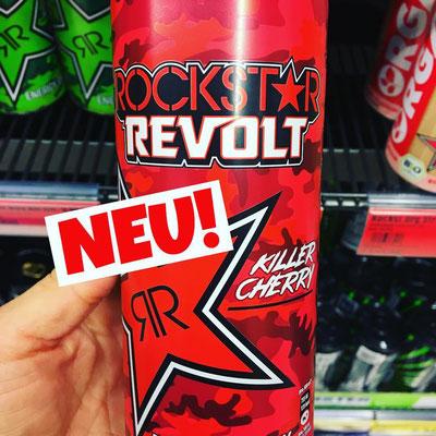 Rockstar Revolt Energydrink Killer Cherry
