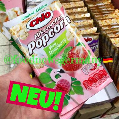 Chio Mikrowellen Popcorn Erdbeere