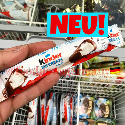 Kinder Schokolade Ice Cream Stick