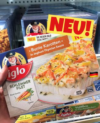 Iglo Schlemmerfilet Bunte Karotten