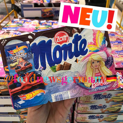 Monte Maxi Barbie & Hot Wheels Edition