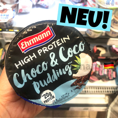 Ehrmann High Protein Choco & Coco Pudding