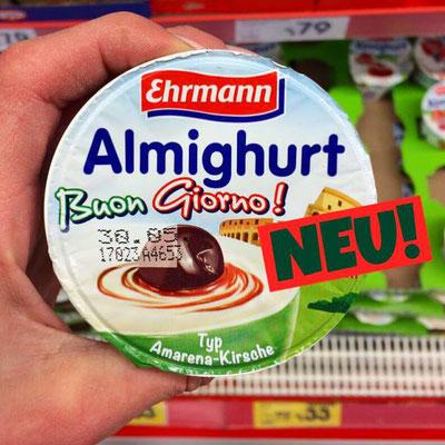 Ehrmann Almighurt Buon Giorno Amarena-Kirsch