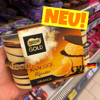 Nestle Gold Knackige Mousse Orange